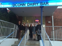 Quick stop at the UConn Dairy Bar!