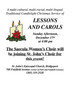 2017-12-17 Lessons and Carols